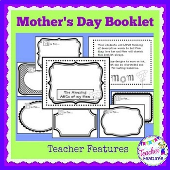 Mother's Day Activities Booklet