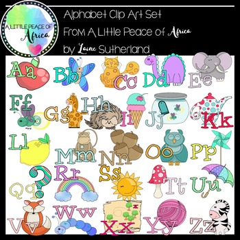 The Amazing Alphabet Clip Art Collection