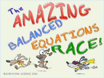 The Amazing Balanced Equations Race