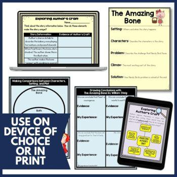 The Amazing Bone Guided Reading Teaching Activities