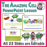 The Amazing Cell PowerPoint (editable) - Cell Anatomy