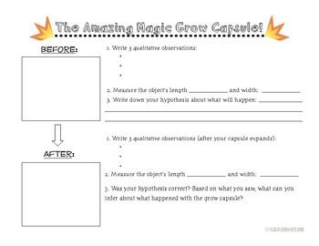 The Amazing Magic Grow Capsule Lab