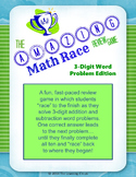The Amazing Math Race Review Game - 3 Digit Word Problem Edition