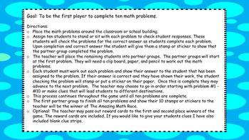 Math Test Prep Game 4th Grade