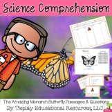 The Amazing Monarch Butterfly Science Comprehension Center Station Activity