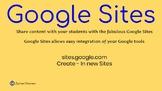 The Amazing New Google Sites