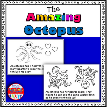 The Amazing Octopus! - A Science Reader