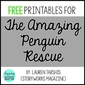 The Amazing Penguin Rescue By: Lauren Tarshis