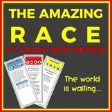 The Amazing Race: 6th Grade End-of-Year Math Review