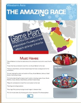 The Amazing Race: A Middle School PBL Unit