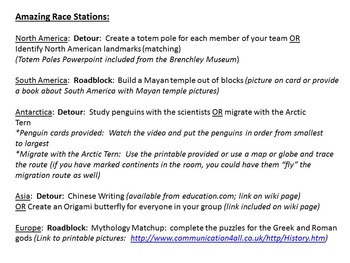 The Amazing Race Around the World:  Library Edition