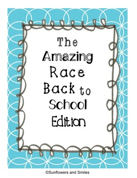 The Amazing Race Back to School Edition