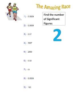 The Amazing Race Coordinate Algebra Unit 1
