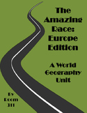 The Amazing Race: Europe Edition for World Geography