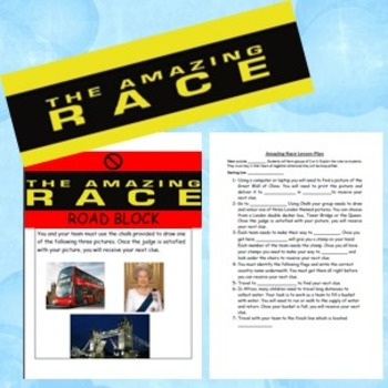 The Amazing Race Lesson Plan
