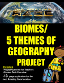 Biomes & 5 Themes of Geography Project (The Amazing Race)