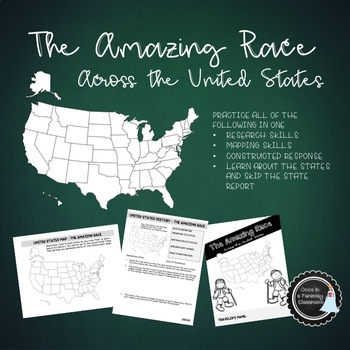 The Amazing Race State Report Alternative
