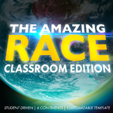 The Amazing Race: Classroom Edition (Includes Customizable Clue Templates)