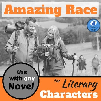 The Amazing Race for Literary Characters