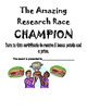 The Amazing Research Race Easter Egg Hunt