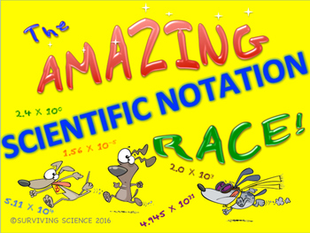 The Amazing Scientific Notation Race