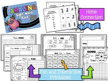 Sight Words BUNDLE {Cards,Printables,Games, and MORE}