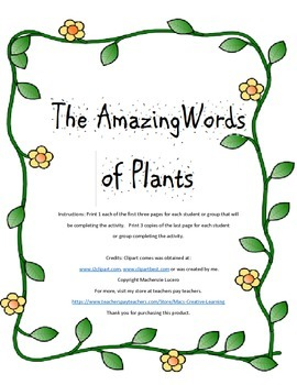 The Amazing Words of Plants