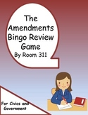 The Amendments Bingo Review Game