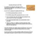 The Amendment Project: Directions and Rubric