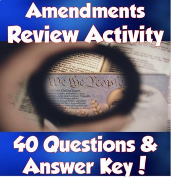 The Amendments- So Tell Me If