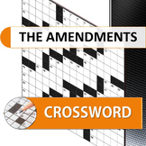 The Amendments to the Constitution crossword puzzle