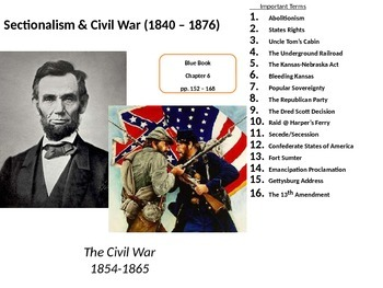 The American Civil War: Major Causes and Effects