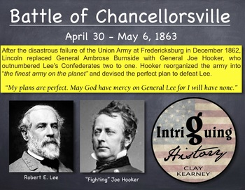 The American Civil War: The Battle of Chancellorsville