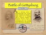 The American Civil War - The Battle of Gettysburg