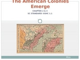 The American Colonies Emerge PowerPoint