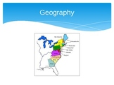 The American Colonies: New England, Middle, and Southern P