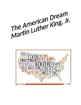 The American Dream Speech by Martin Luther King, Jr.