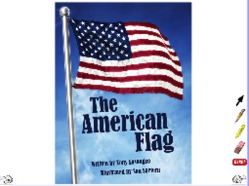 The American Flag - ActivInspire Flipchart - Interactive Book