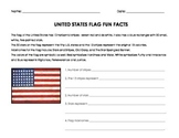 The American Flag Fun Facts & Pledge of Allegiance