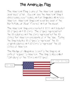 American Symbols FREE American Flag Activities