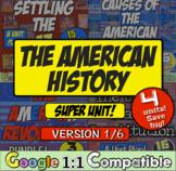 American History Super Unit Version 1/6: (1590-1788): 4 Unit Bundle! Save Big!