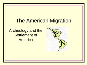 The American Migration
