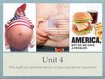 The American Obesity Epidemic (PBL/STEM Unit Plan)