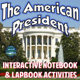 The American President Interactive Notebook Activities with Test Prep Passage