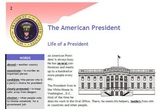 The American President- Text and Exercise Sheets