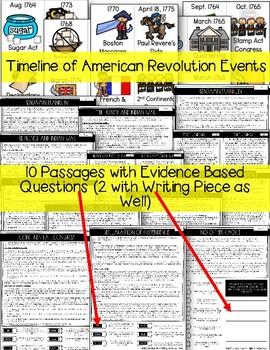 The American Revolution - 1760-1775 {TN 4th Grade Standards}