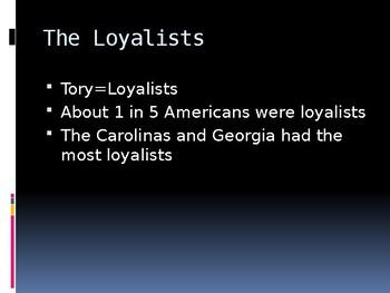 The American Revolution (1776-1783)  PowerPoint Presentation