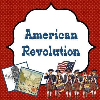 """American Revolution Power point lesson about all the """"acts"""