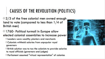 The American Revolution PPT
