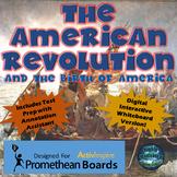 The American Revolution ActivInspire Promethean Flipchart  Activities
